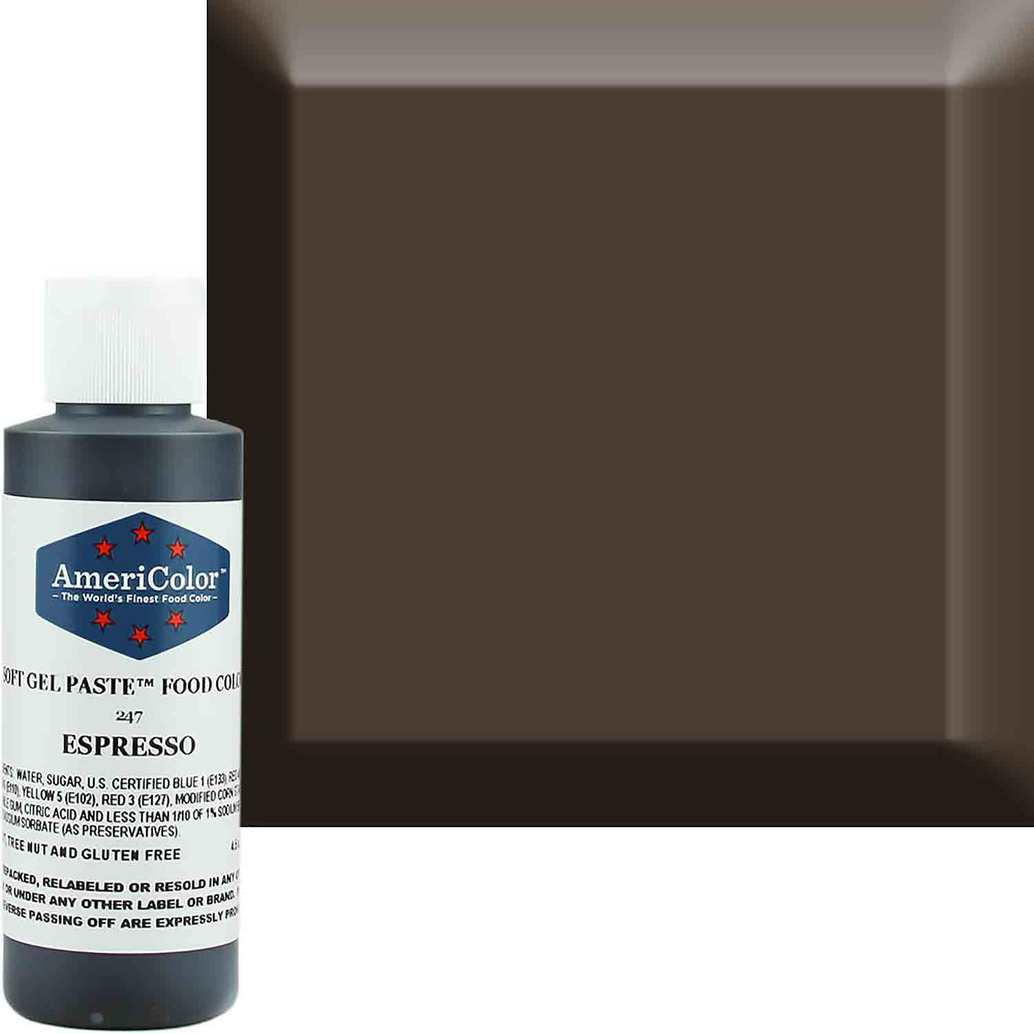 Espresso AmeriColor® Soft Gel Paste™ Food Color