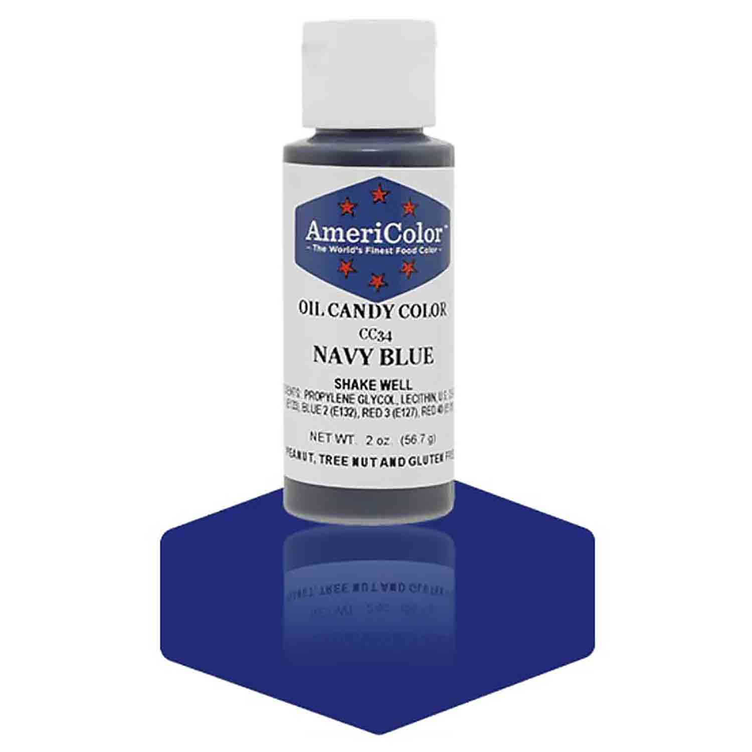 Navy Blue Americolor® Oil Candy Color