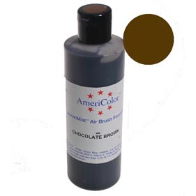 Chocolate Brown Americolor AmeriMist™ Airbrush Food Color (Old # 34-604)