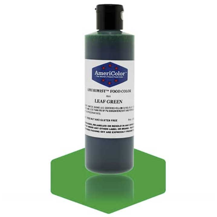 Leaf Green Americolor® AmeriMist™ Air Brush Food Color