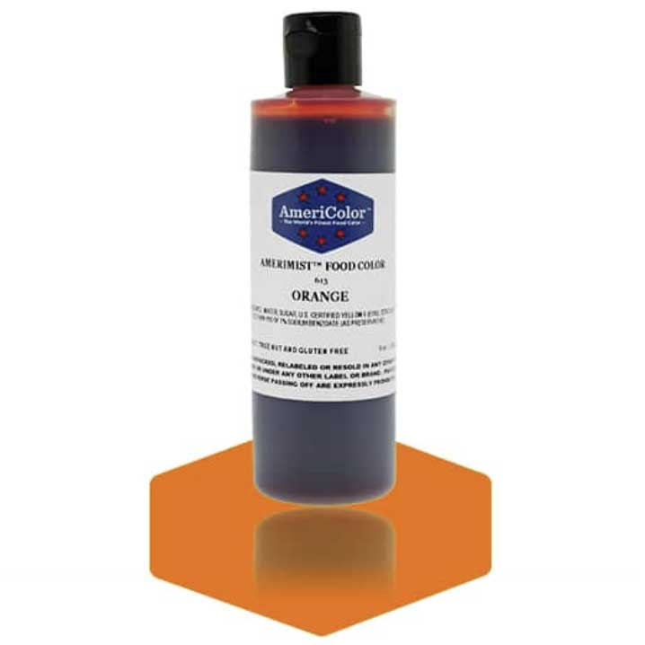Orange Americolor® AmeriMist™ Air Brush Food Color