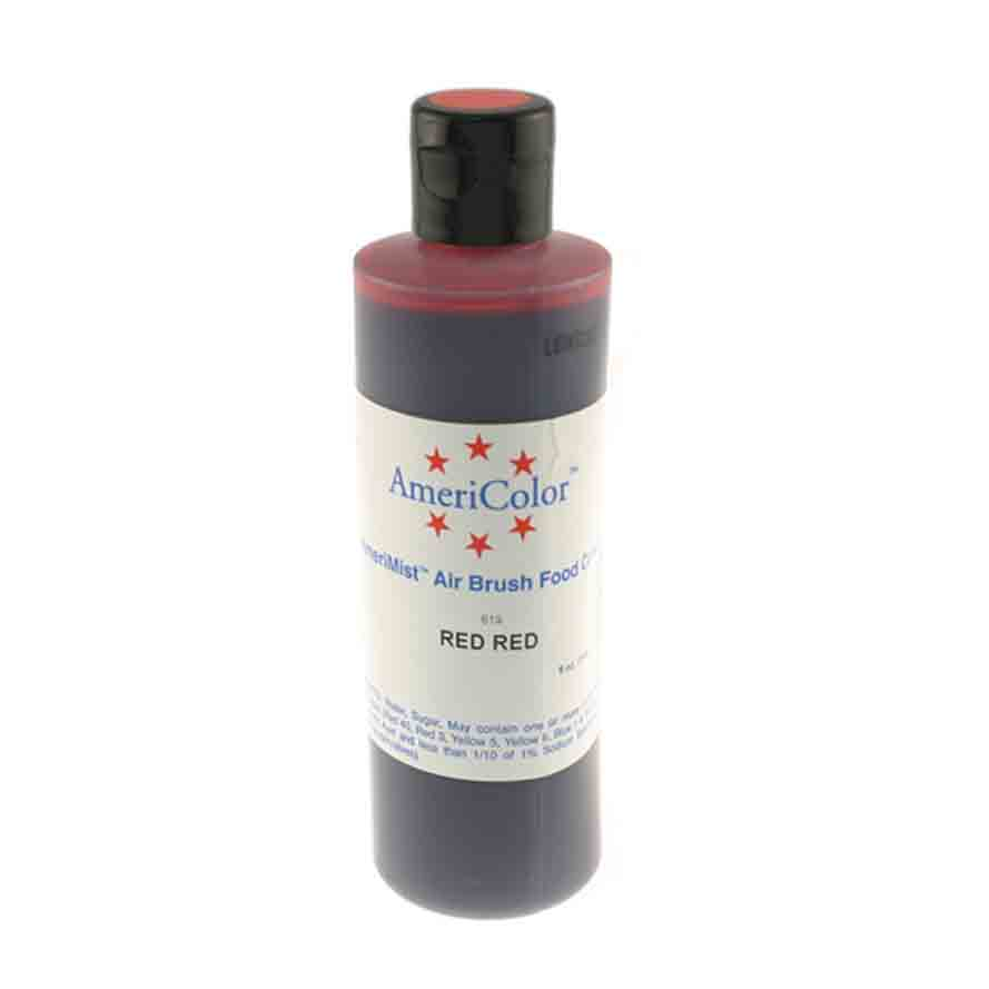Red Red Americolor® AmeriMist™ Air Brush Food Color