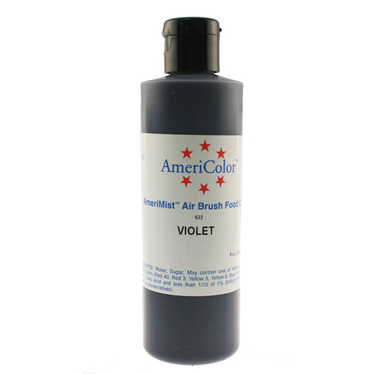 Violet AmeriColor® AmeriMist™ Air Brush Food Color