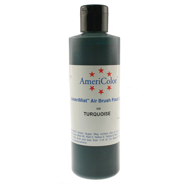 Turquoise AmeriColor® AmeriMist™ Air Brush Food Color