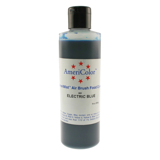 Electric Blue AmeriColor® AmeriMist™ Air Brush Food Color