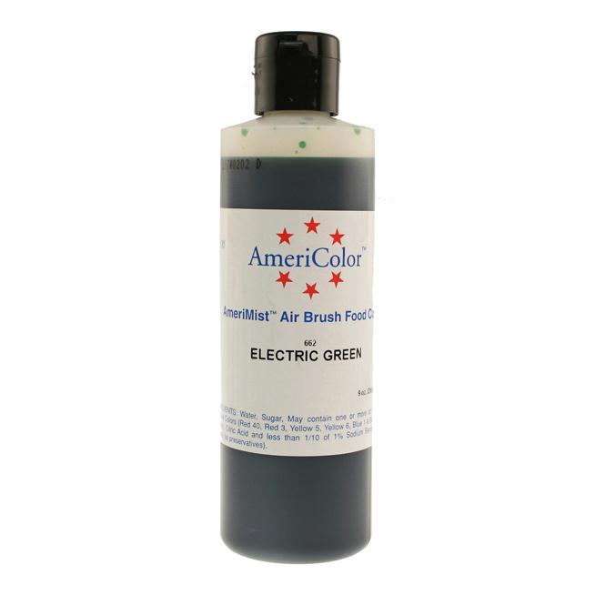 Electric Green Americolor® AmeriMist™ Air Brush Food Color