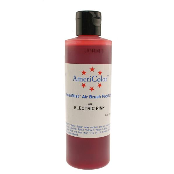 Electric Pink Americolor® AmeriMist™ Air Brush Food Color