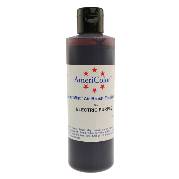 Electric Purple Americolor® AmeriMist™ Air Brush Food Color