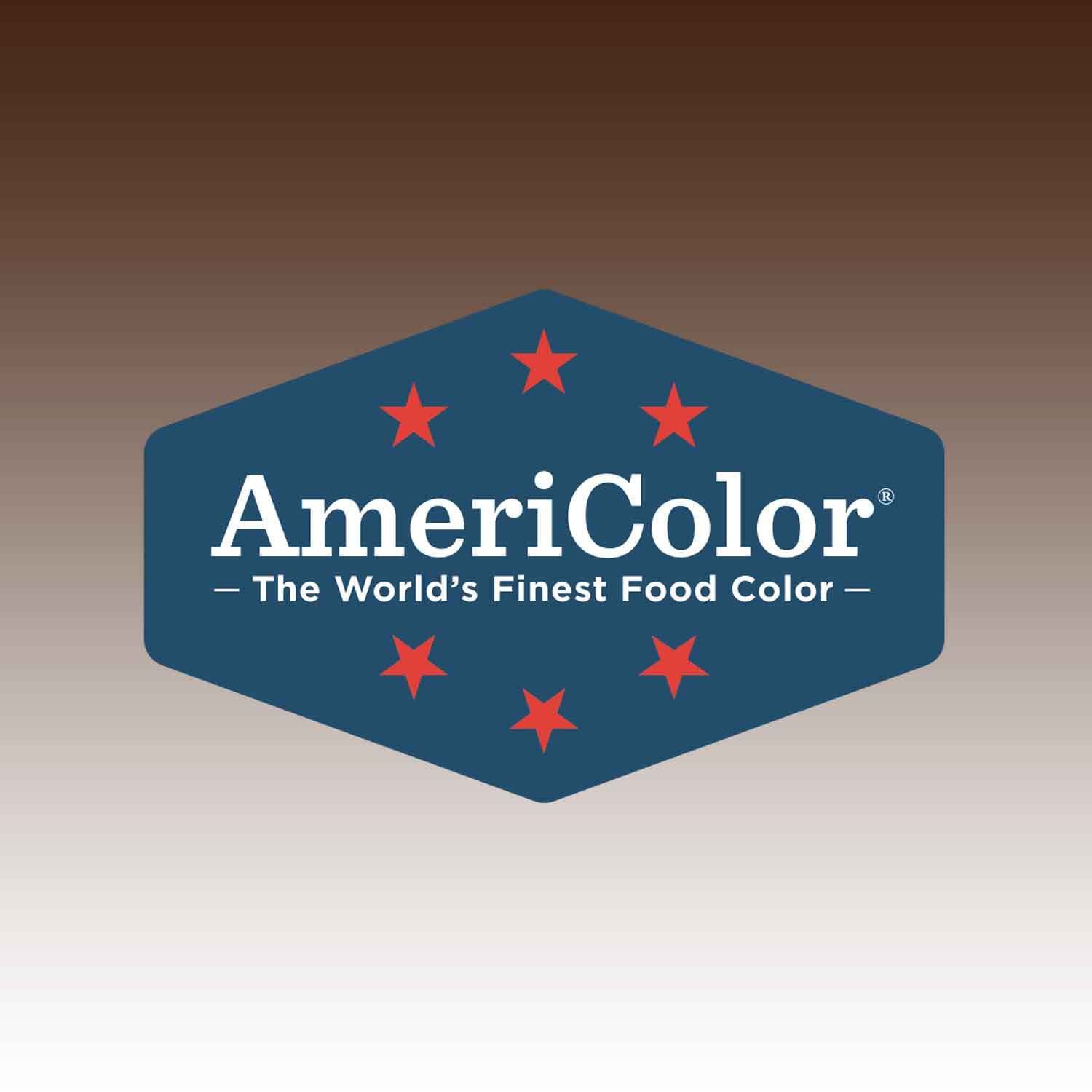 Chocolate Brown Americolor® AmeriMist™ Air Brush Food Color