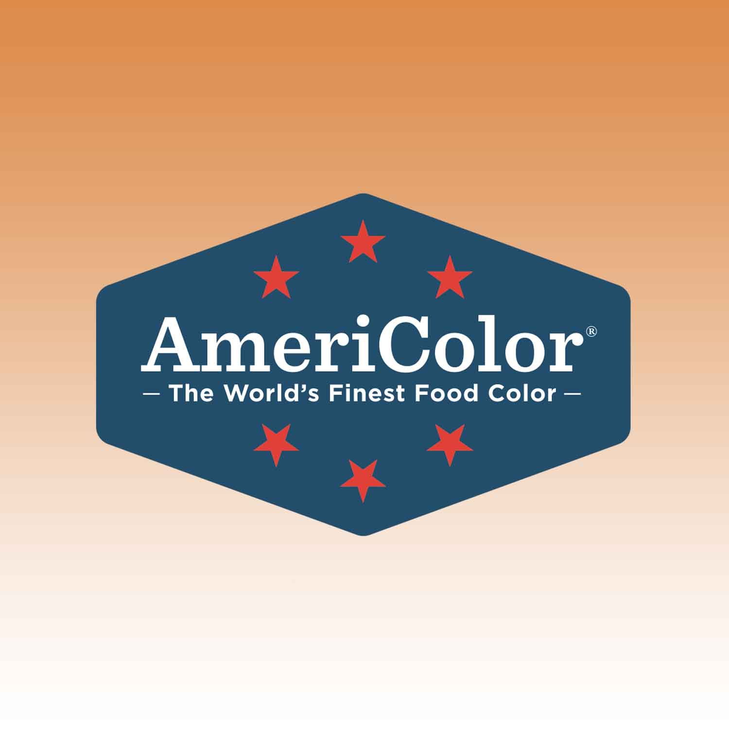 Peach Americolor® AmeriMist™ Air Brush Food Color