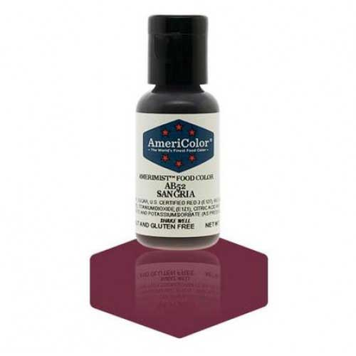 Sangria Titanium AmeriMist™ Air Brush Food Color