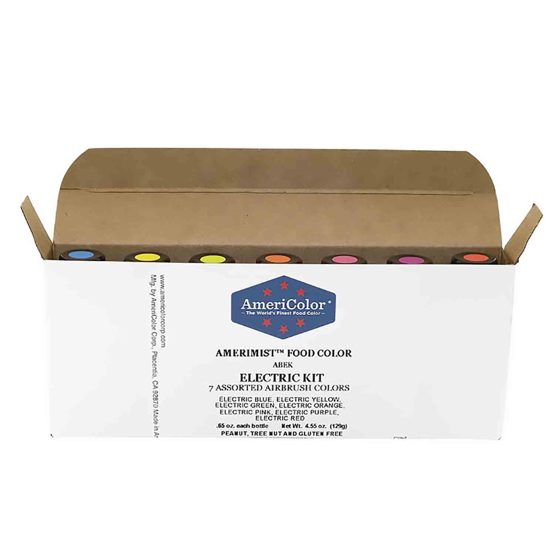 Electric AmeriMist™ Air Brush Food Color Kit