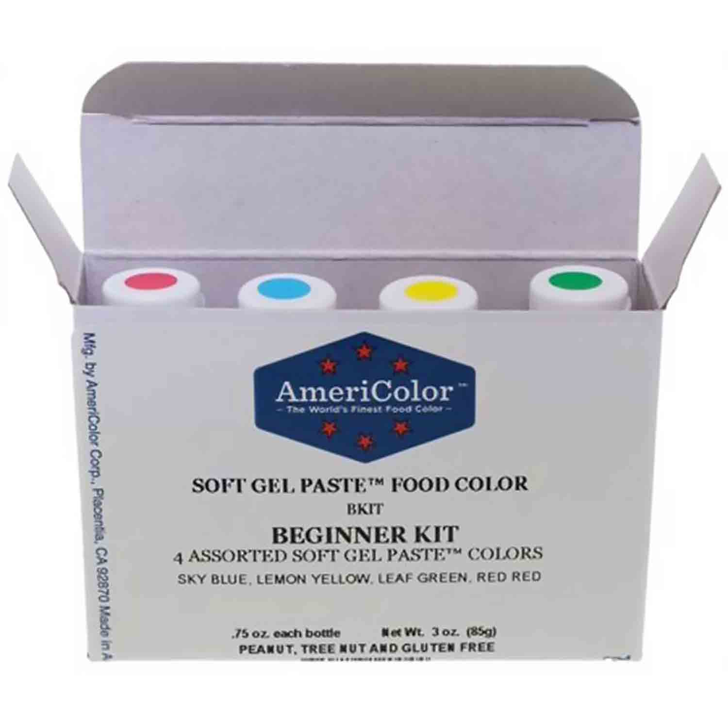 Beginner AmeriColor® Soft Gel Paste™ Food Color Kit