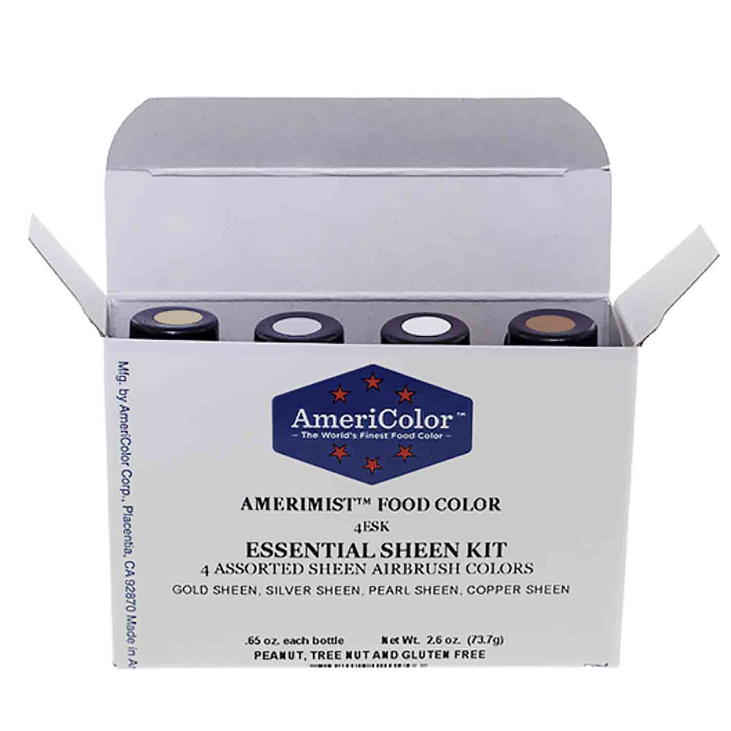 Essential Sheen AmeriMist™ Air Brush Food Color Kit