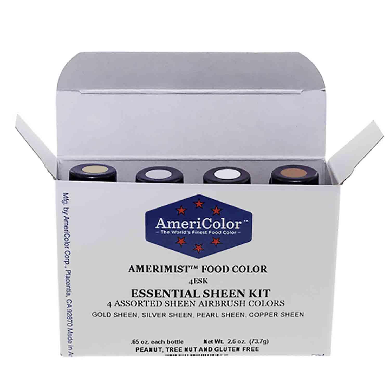 Essential Sheen AmeriMist™ Air Brush Food Color Kit