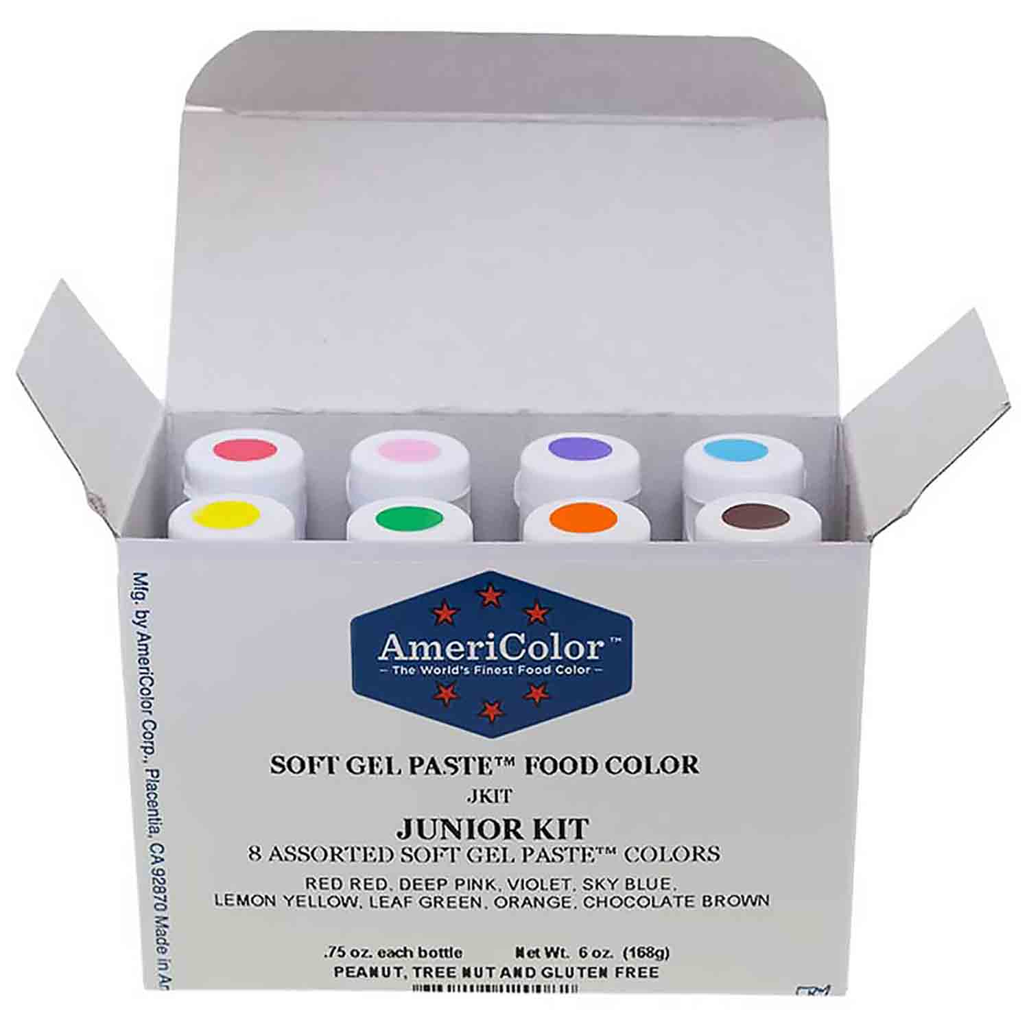 Junior AmeriColor® Soft Gel Paste™ Food Color Kit