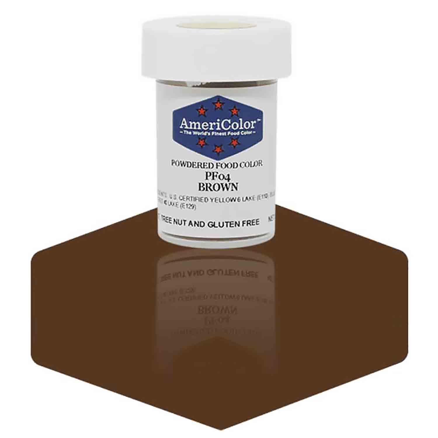 Brown AmeriColor® Powdered Food Color