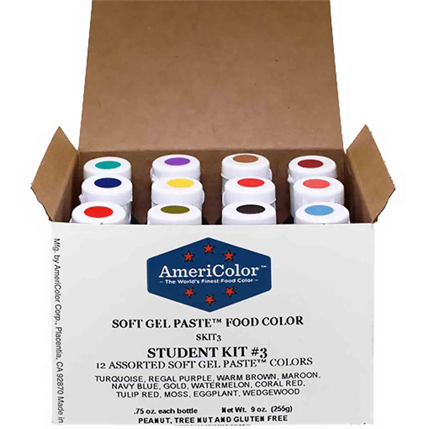 Student #3 AmeriColor® Soft Gel Paste™ Food Color Kit