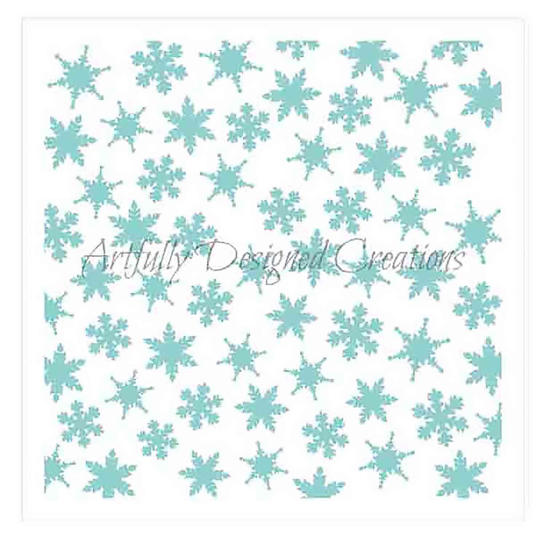 Snowflake Cookie Stencil