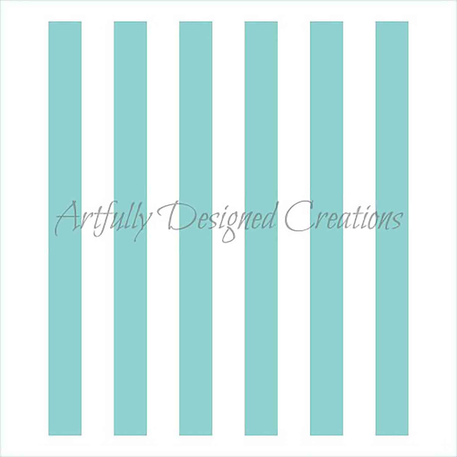 Thick Stripes Cookie Stencil
