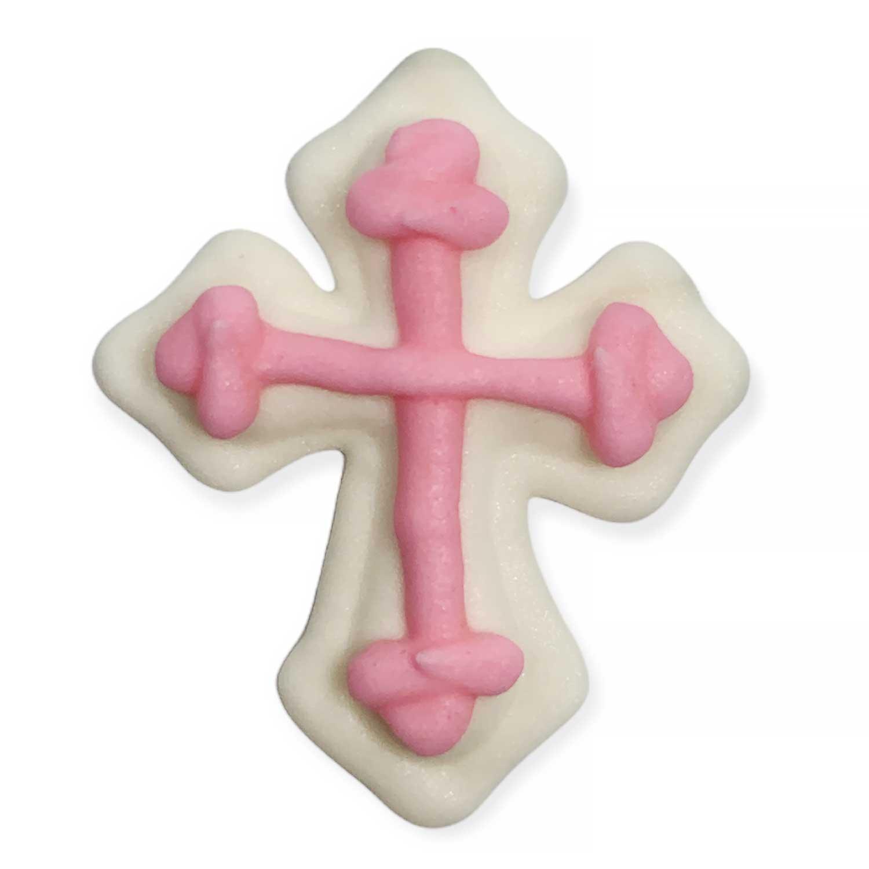 Icing Layons - Pink Cross
