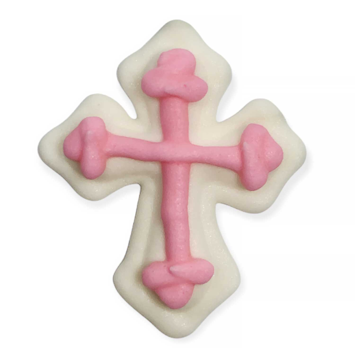 Icing Layons - Pink Cross