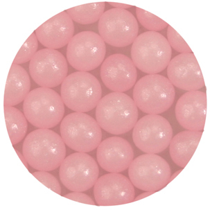 4mm Pink Sugar Pearls / Dragees