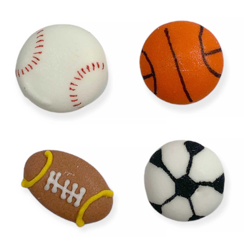 Icing Layons - Mini Sports Ball Assortment