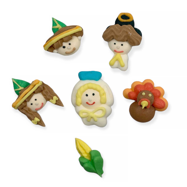 Icing Layons - Mini Thanksgiving Assortment