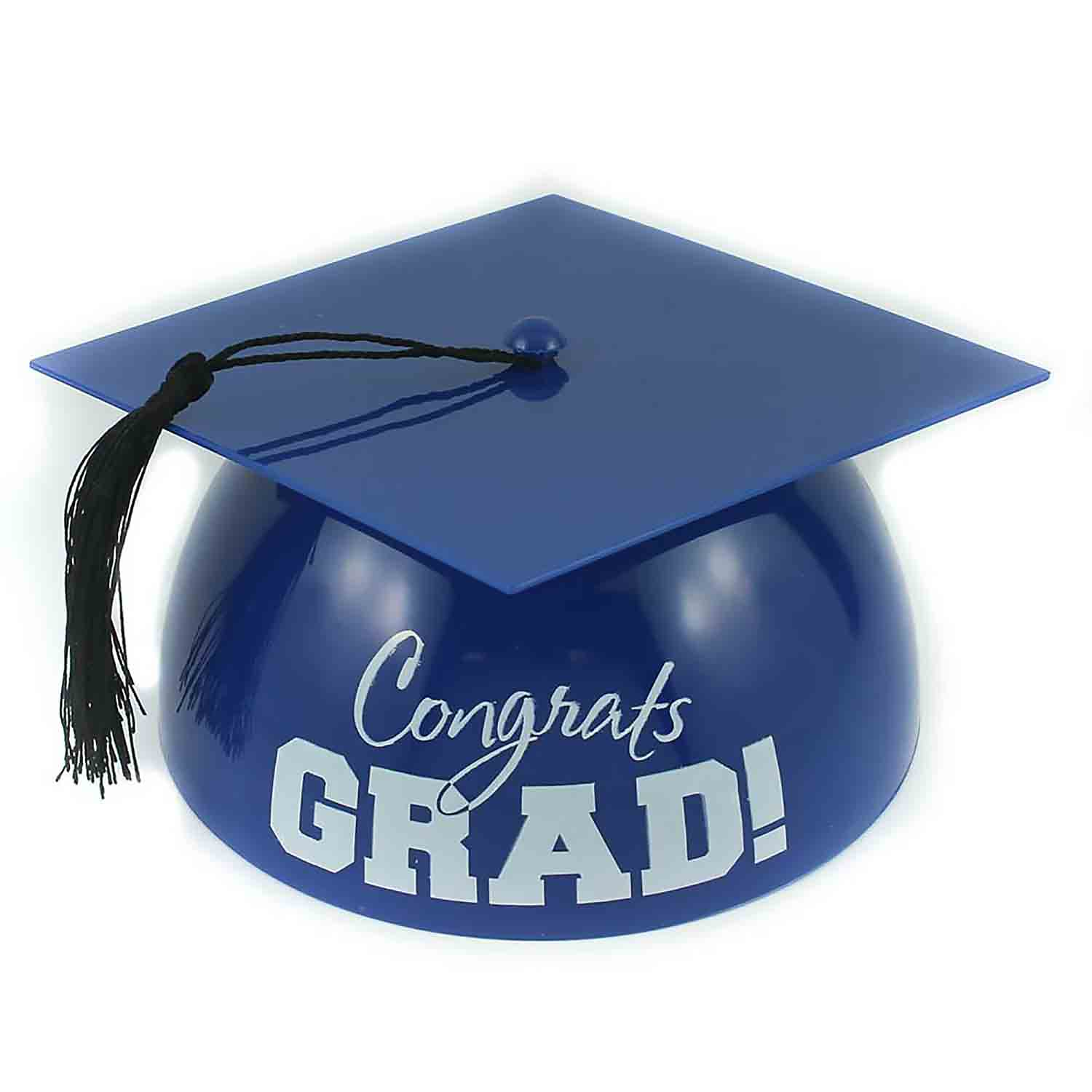 Royal Blue Grad Hat Cake Topper