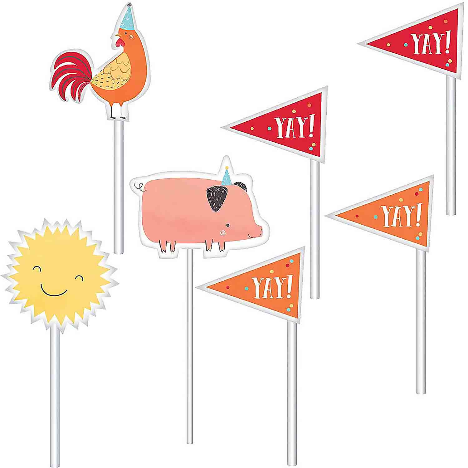 Barnyard Cake Topper Kit