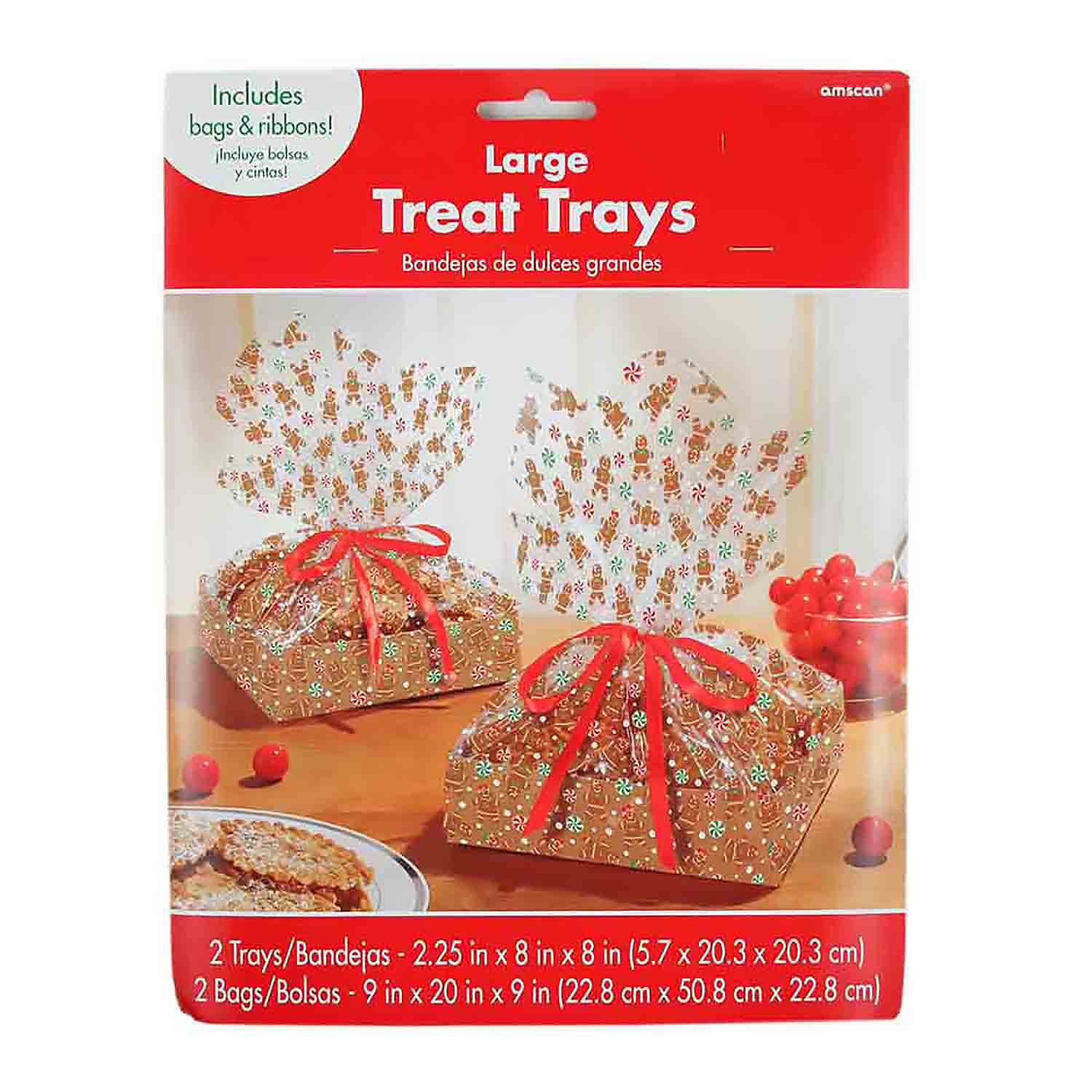 Large Gingerbread Cookie Tray Kit
