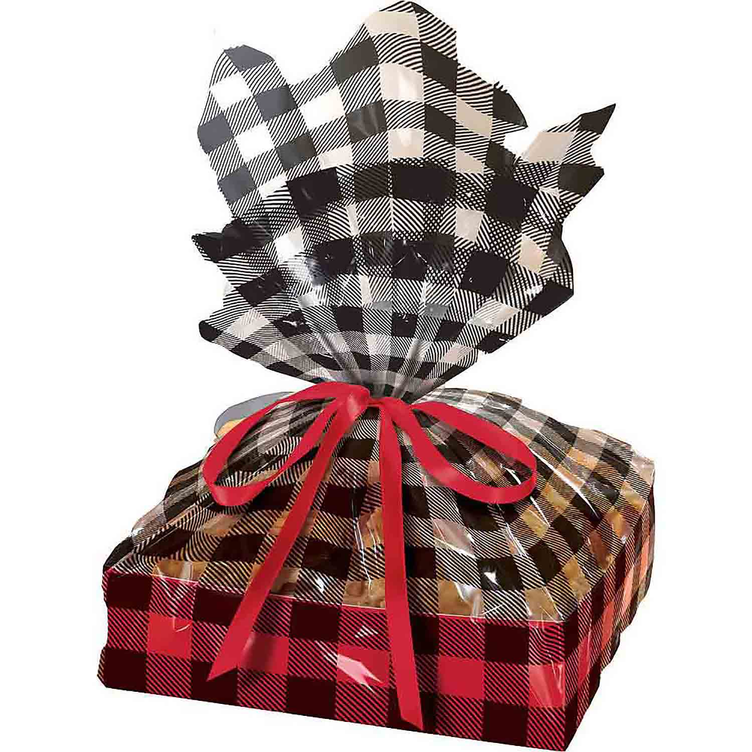 Large Plaid Cookie Tray Kit