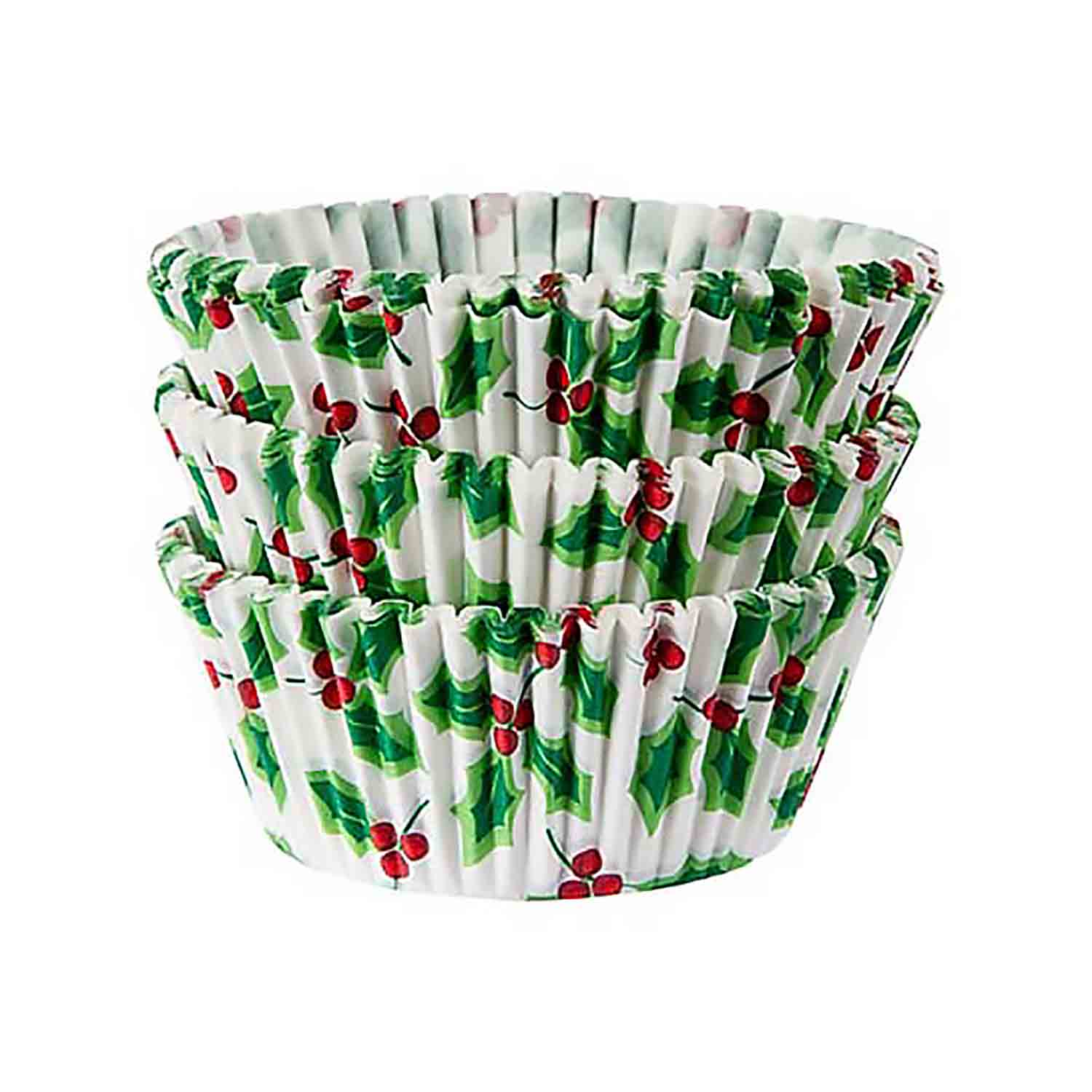 Holly Standard Baking Cups