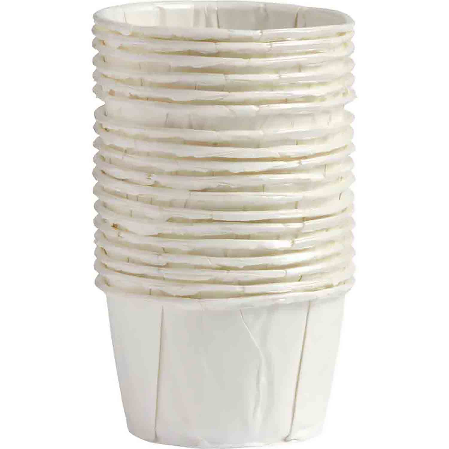 White Treat Cups
