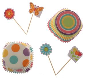 Spring Cupcake Combo Decorating Kit