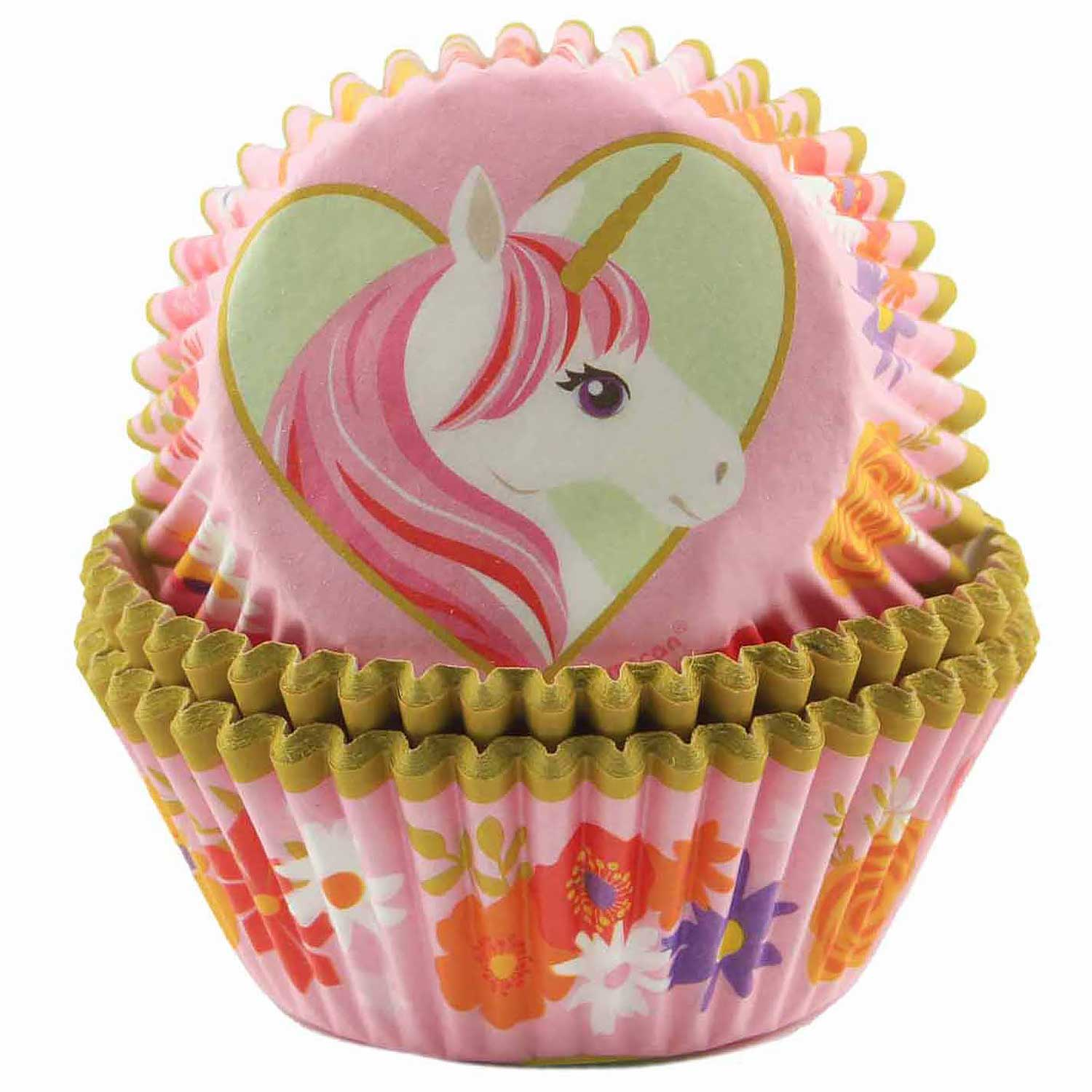 Magical Unicorn Standard Baking Cups