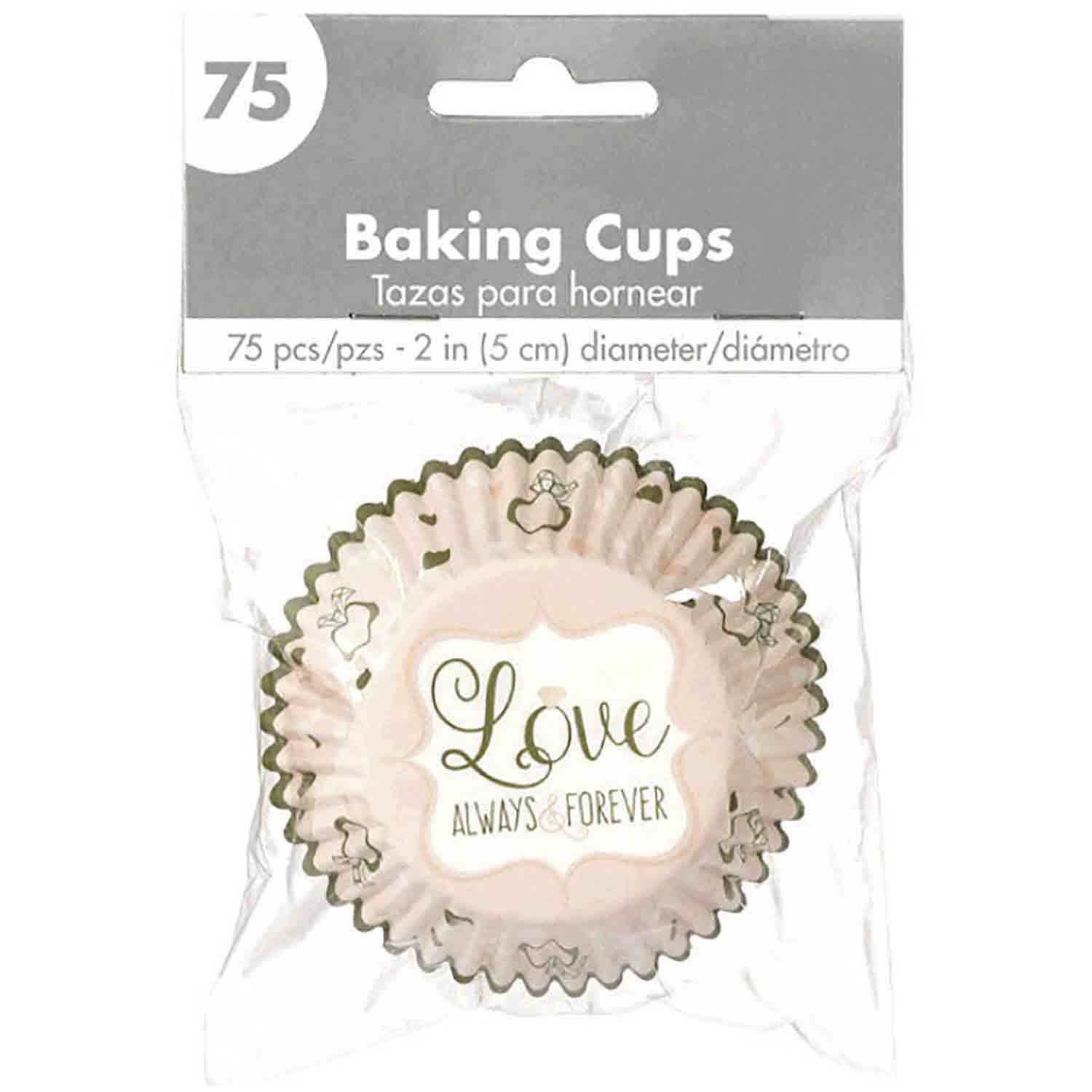 Love Always & Forever Standard Baking Cups