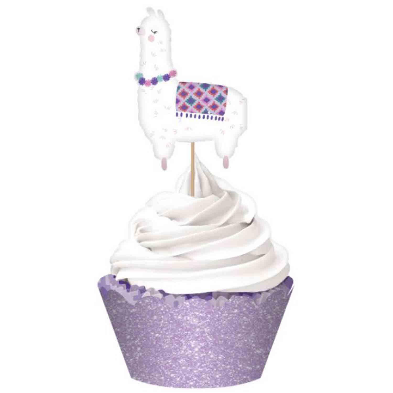 Llama Fun Cupcake Kit