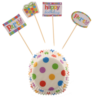 Birthday Cupcake Decorating Kit