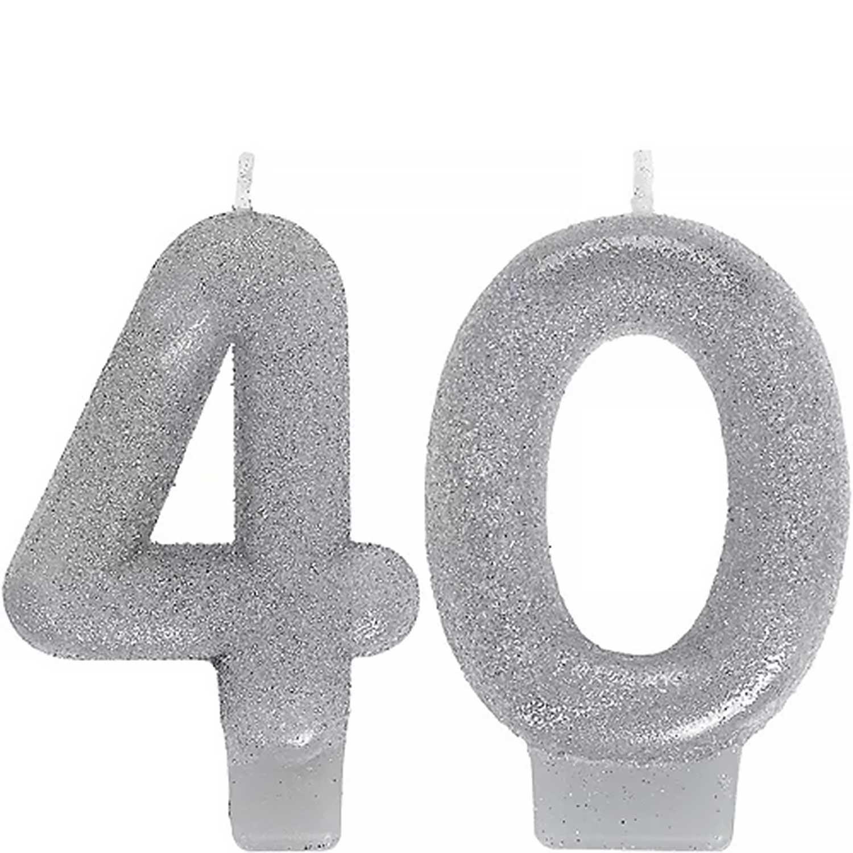 Celebrate 40 Candle Set