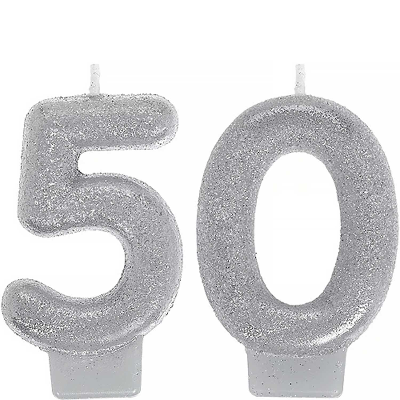 Celebrate 50 Candle Set