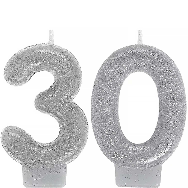 Celebrate 30 Candle Set