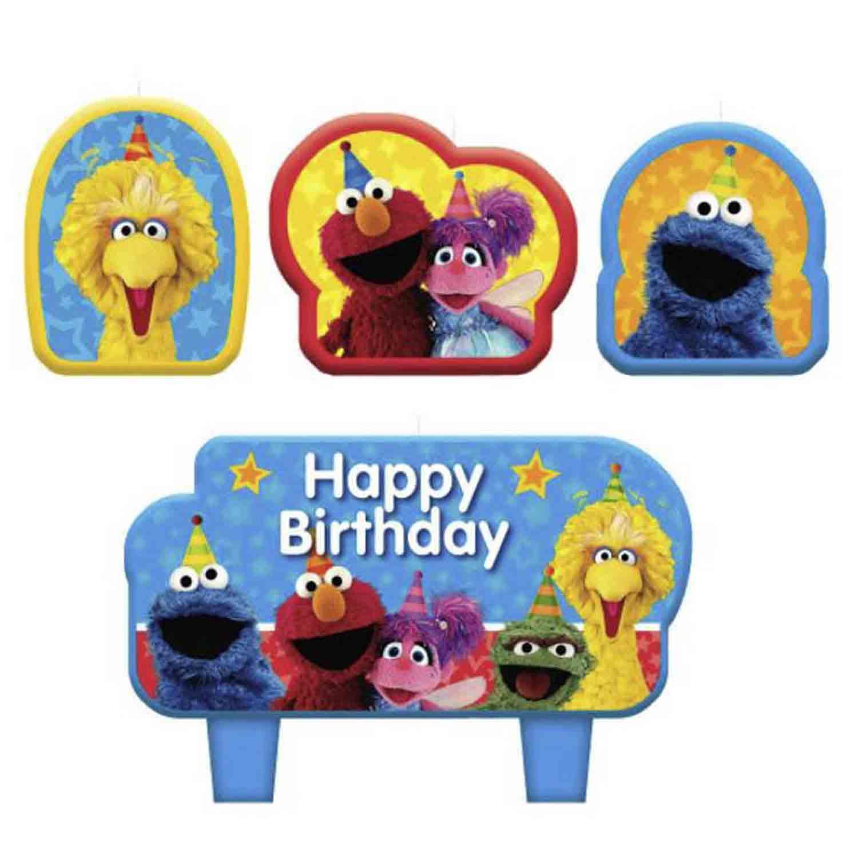 Sesame Street Candle Set