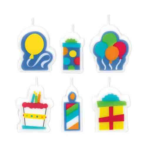 Birthday Fever Candle Set