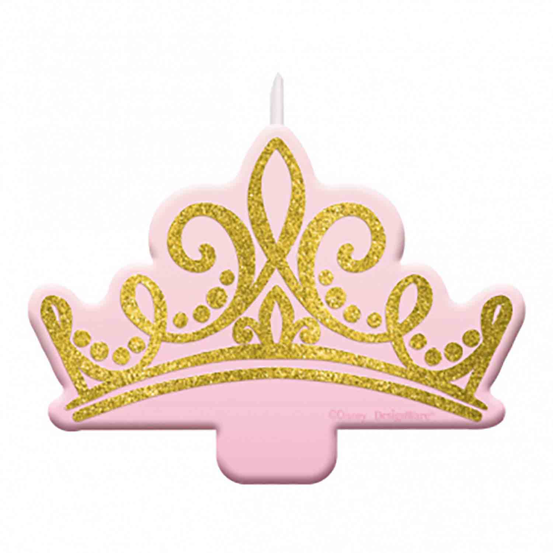 Disney Princess Crown Candle