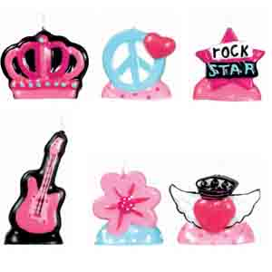 Candles - Rocker Princess
