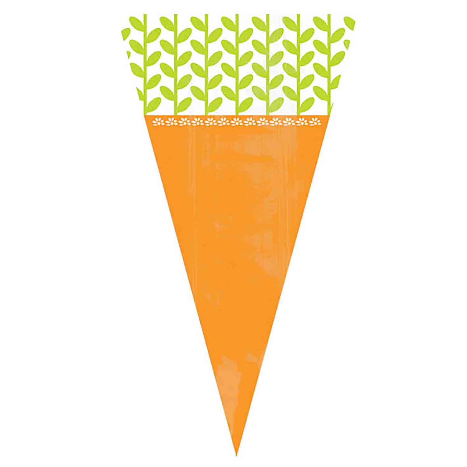 Carrot Shaped Treat Bags