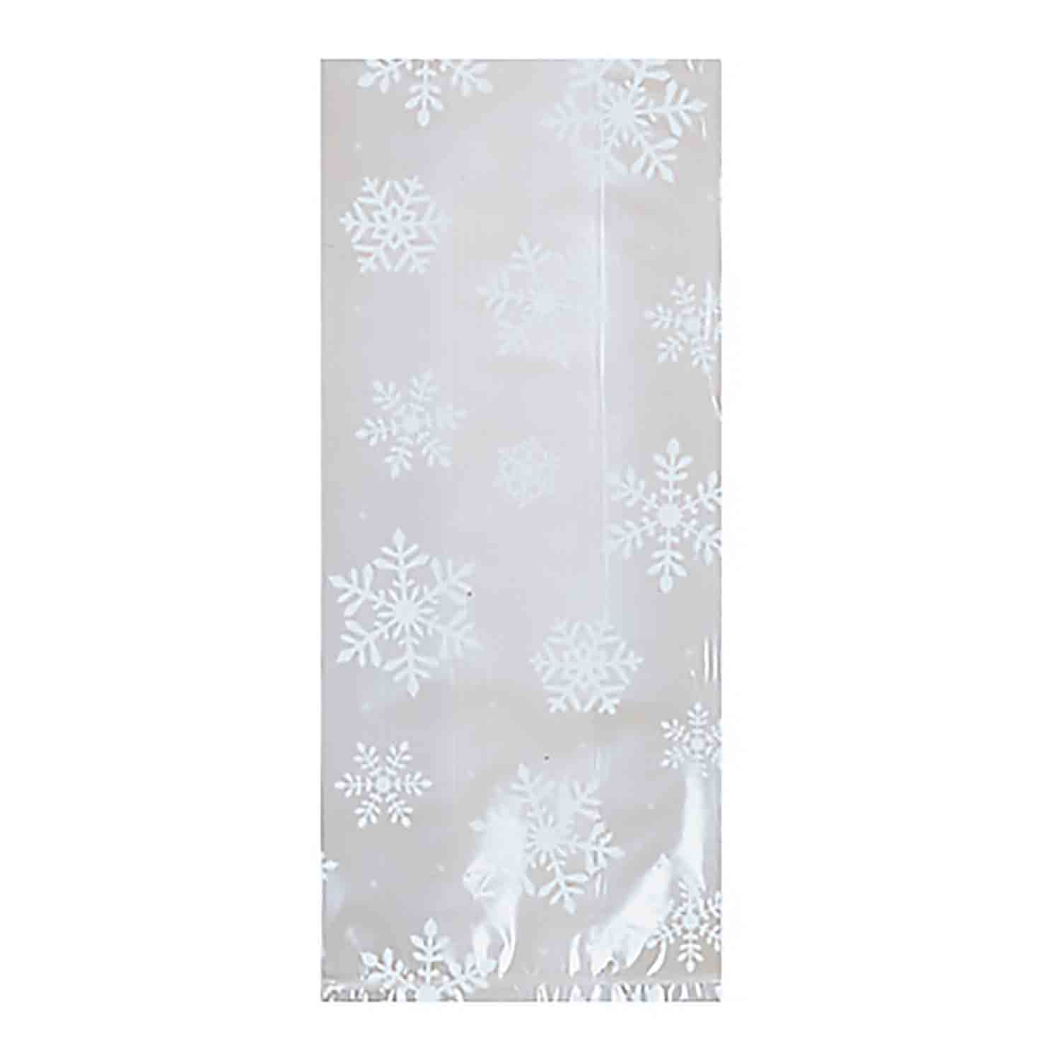 White Snowflake Large Party Bags