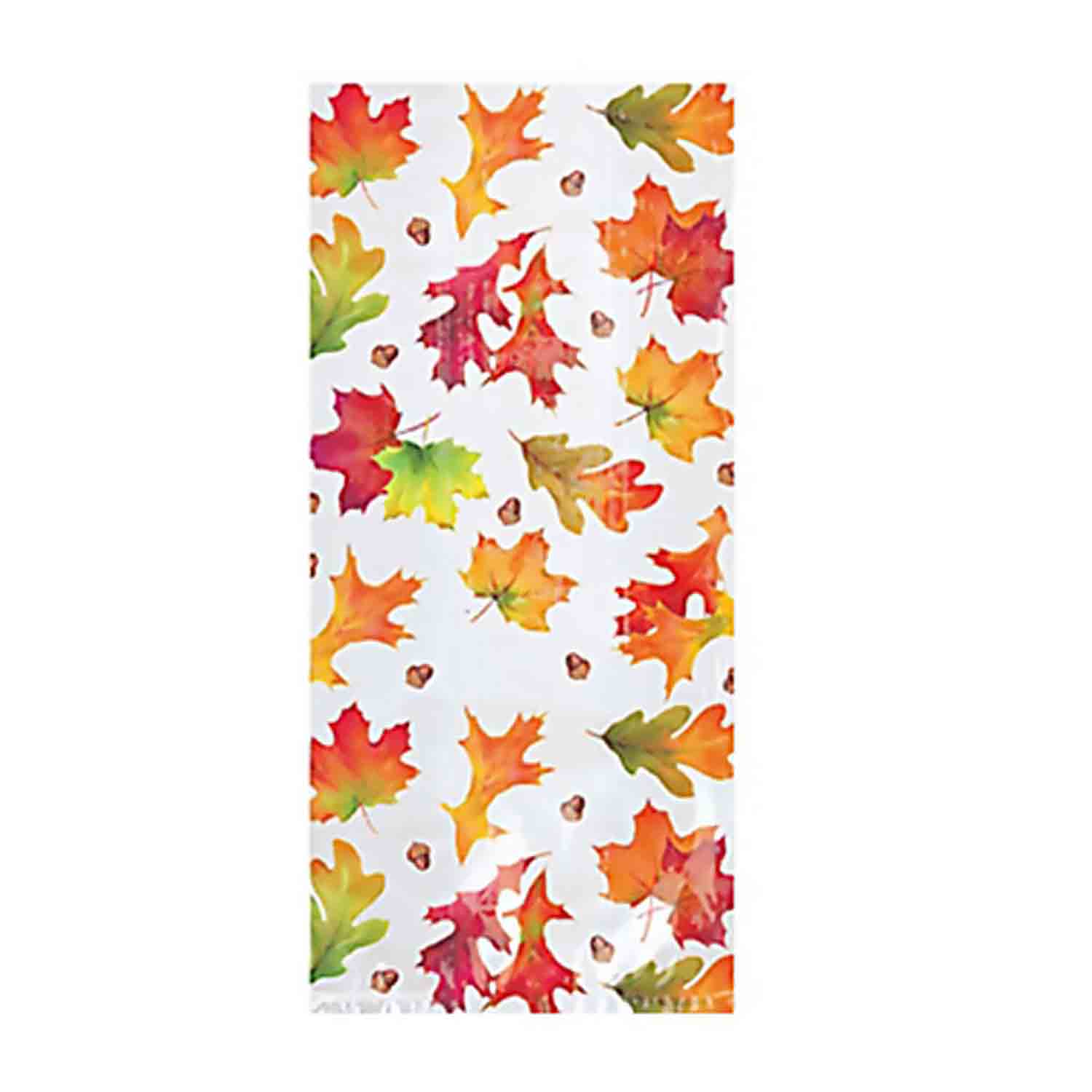 Fall Leaves Large Party Bags